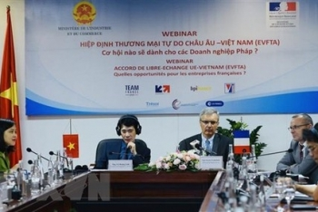 vietnam and france businesses exchange trade and investment opportunities from evfta