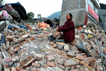 china suffered from 14 earthquakes in a week