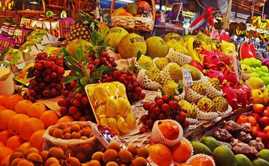 5019 thailand fruit and vegetables