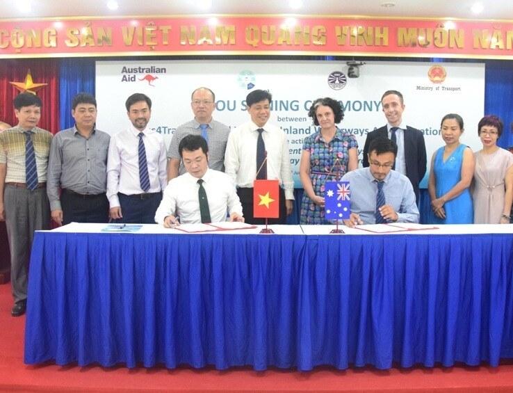 australia supports vietnam aud500000 to construct waterway management system