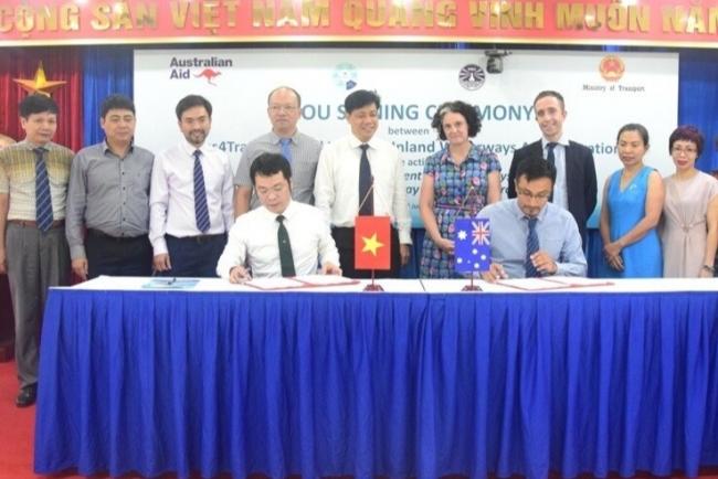 Australia supports Vietnam AUD500,000 to construct waterway management system
