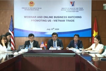 online trade conference offers business opportunities for vietnamese and us enterprises