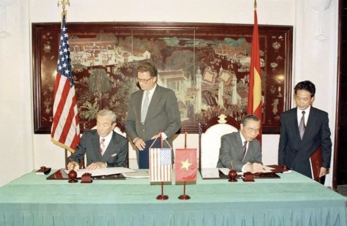 25 years of vietnam america relations historical moments