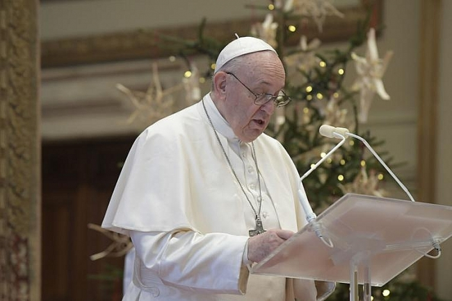 Pope Francis to skip New Year