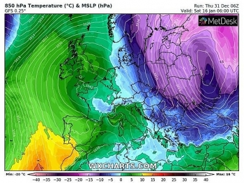 uk and europe weather forecast latest january 2 snow showers with bitterly cold winds to hit the uk as temperatures plummet
