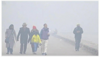 india weather forecast latest january 2 temperatures to rise with light rain expected