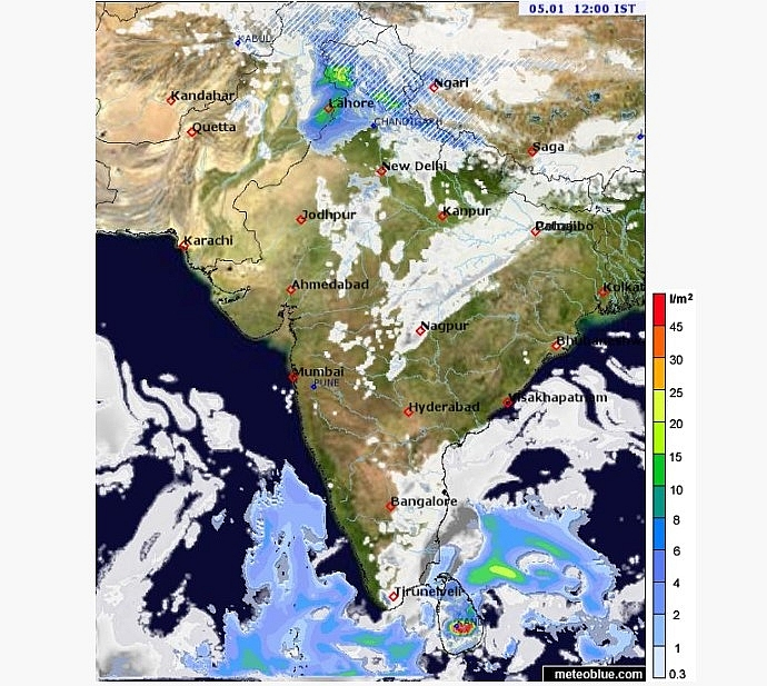 India weather forecast latest, January 5: Severe cold wave conditions to blanket some isolated places