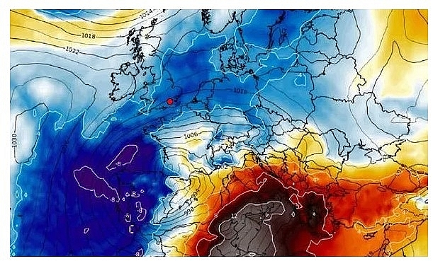 UK and Europe weather forecast latest, January 6: Scandinavian freeze sweeps with 5 days snow blitz to cover Britain