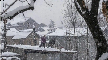 india weather forecast latest january 6 widespread rain accompanied with thunderstorm and lightning over northwest areas