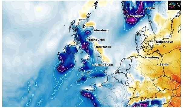 UK and Europe weather forecast latest, January 7: Significant polar freeze to sweep the UK with sub zero temperatures