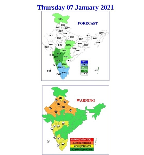 India weather forecast latest, January 7: Significant improvement expected before cold wave returns