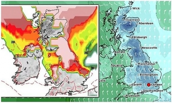 uk and europe weather forecast latest january 8 ferocious arctic blast to cover the uk with heavy snow as temperatures plummet