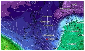 uk and europe weather forecast latest january 9 heavy rain wet and snowy conditions to cover europe as storm filomena batters