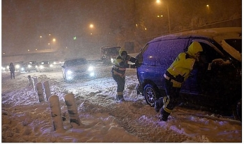 uk and europe weather forecast latest january 11 heavy snow to blanket the uk with record breaking cold and freezing fog