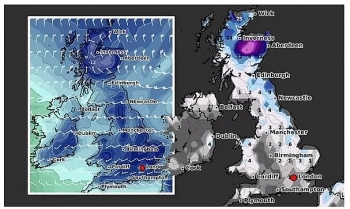 uk and europe weather forecast latest january 13 low pressure brings extreme wintry conditions and heavy snow