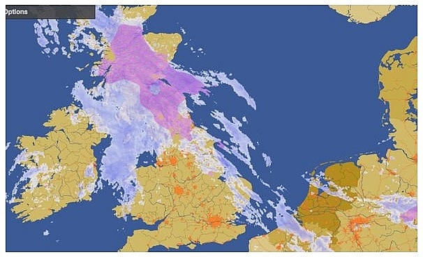 UK and Europe weather forecast latest, January 15: Snow warnings issued as icy blast sweep the UK