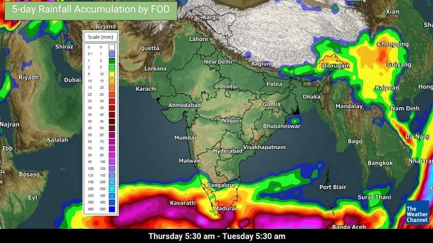 India weather forecast latest, January 15: Scattered Rains, thunderstorms in Tamil Nadu, Kerala while isolated showers to cover Karnataka, Andhra