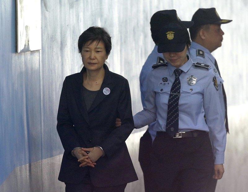 South Korea's top court upholds 20-year prison sentence for ex-president Park