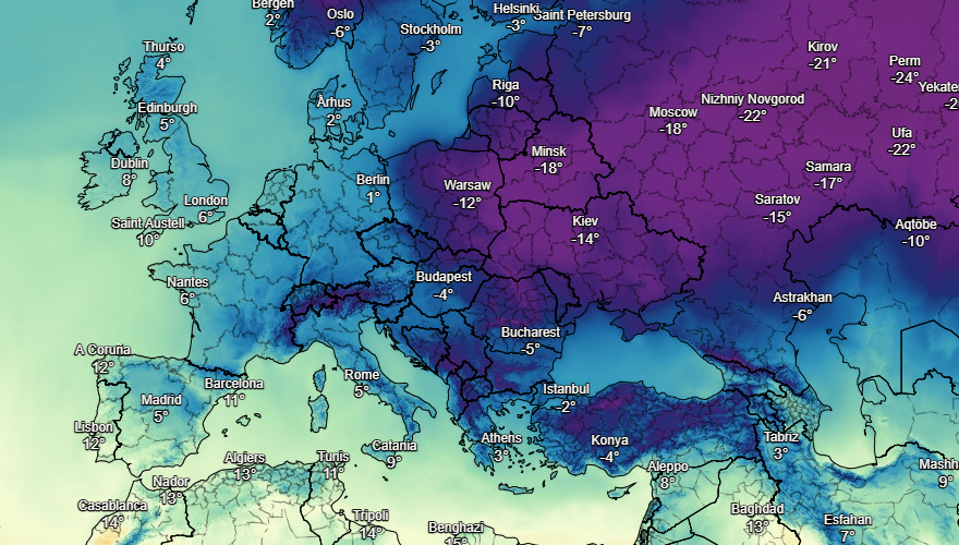 UK and Europe weather forecast latest, January 19: Flood warnings issued across much of the UK