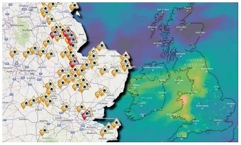 uk and europe daily weather forecast latest january 19 flood warnings issued across much of the uk
