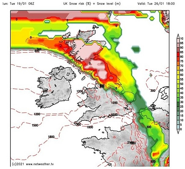 UK and Europe daily weather forecast latest, January 21: Brutal winter Storm Christoph to hit the UK in two phases
