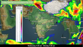 india daily weather forecast latest january 21 severe cold conditions prevail in isolated pockets of west rajasthan