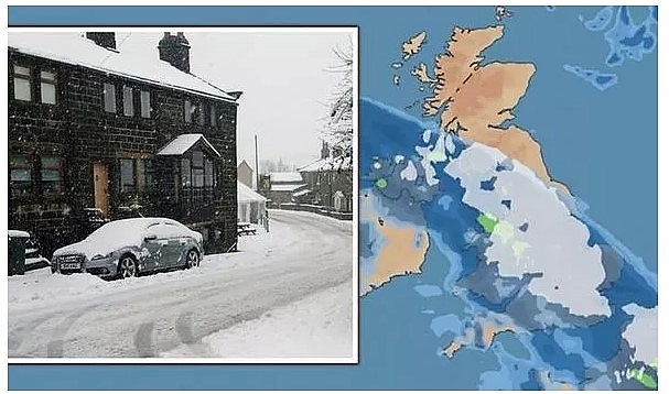 UK and Europe daily weather forecast latest, January 27: Wall of snow to cover Britain while temperatures expected to plunge