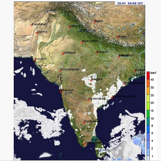 India daily weather forecast latest, january 28: severe cold wave with dense fog to impact northwestern areas