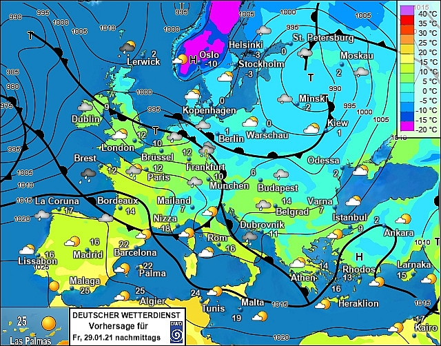 UK and Europe daily weather forecast latest, January 29: Heavy snow band to sweep the UK while temperatures plunge