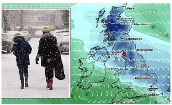uk and europe daily weather forecast latest january 29 heavy snow band to sweep the uk while temperatures plunge