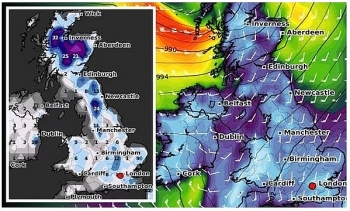 uk and europe daily weather forecast latest january 31 heavy snow to sweep britain as a brutal icelandic freeze strikes