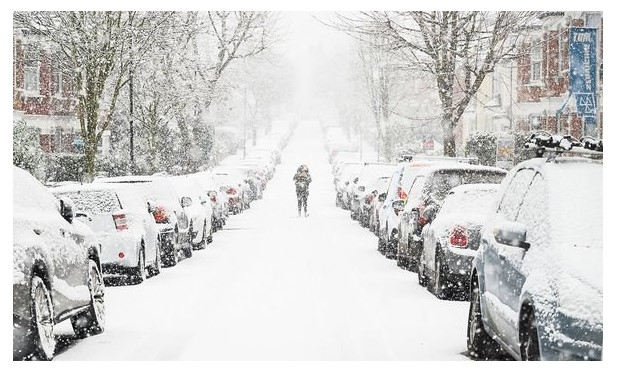 UK and Europe daily weather forecast latest, February 1: An Arctic freeze to hit the UK as heavy snow blankets parts of the country