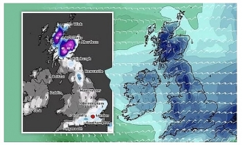 uk and europe daily weather forecast latest february 2 torrents of snow to blanket much of the uk as temperatures remain low