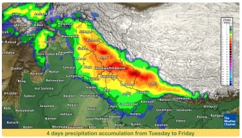 india daily weather forecast latest february 2 widespread snow or rain over north india and adjoining areas