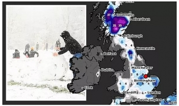 uk and europe daily weather forecast latest february 4 western europe to bear wet and unsettled conditions over the next few days