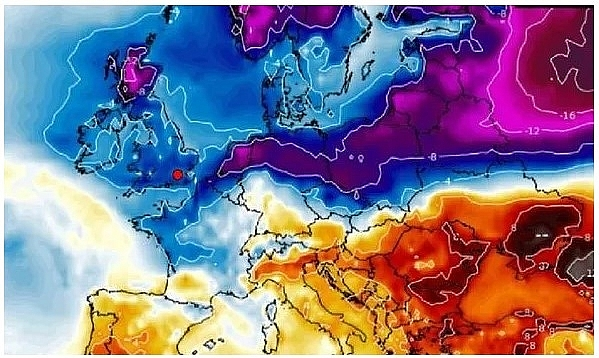 UK and Europe daily weather forecast latest, February 5: The biggest snow event sparked by storms from the Atlantic to hit the UK in days