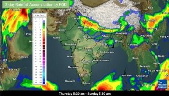 india daily weather forecast latest february 5 temperature remains near normal and mainly dry weather expected