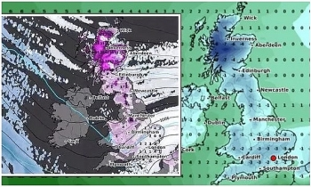 uk and europe daily weather forecast latest february 6 icy weather moves across the uk while temperatures plummet to sub zero levels