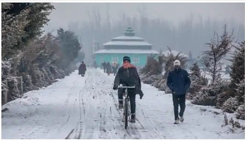 india daily weather forecast latest february 6 gangetic plains witness a drop in temperatures while isolated rain and thunderstorm expected over some places