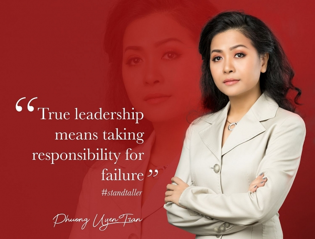 A story shows importance of taking responsibility to true leadership