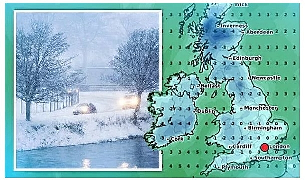 UK and Europe daily weather forecast latest, February 18: Freezing temperature warnings in Britain after weeks of warm weather