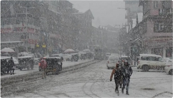 india daily weather forecast latest february 20 a fresh spell of rainfall and snowfall to sweep western himalayan region
