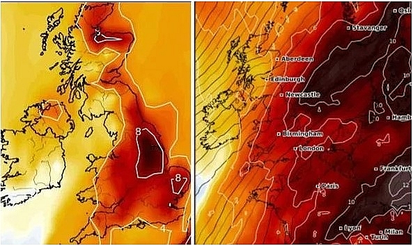 UK and Europe daily weather forecast latest, February 25: Plenty of sunshine with a few showers in the North West of the UK