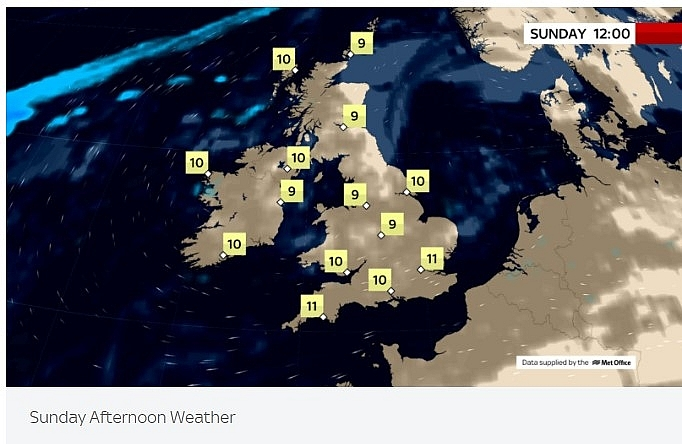 UK and Europe daily weather forecast latest, February 28: A sunny weekend with mild temperatures in the UK before freezing air to hit