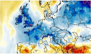 uk and europe daily weather forecast latest march 1 temperatures drop with mist and fog expected to cover the uk