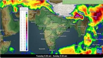 india daily weather forecast latest march 3 isolated rains and thunderstorms to cover assam ladakh sikkim