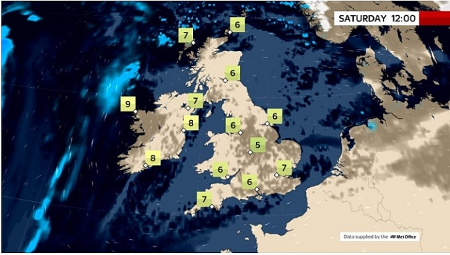 UK and Europe daily weather forecast latest, March 6: Fine conditions in the UK with sunny spells for most after a frosty start