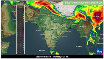 india daily weather forecast latest march 8 warm and sunny weather to cover most parts of the country