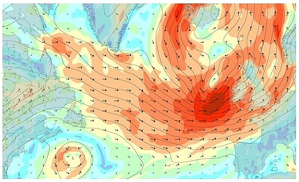 UK and Europe daily weather forecast latest, March 11: Showery, windy weather to start in eastern England