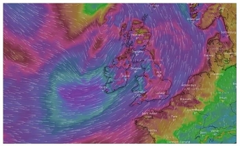uk and europe daily weather forecast latest march 11 showery windy to start in eastern england